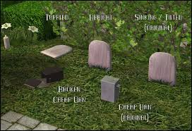 cheap gravestones mod the sims maxis lost found cheap tombstones and urns
