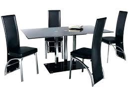 chaise cuisine noir chaise de salle a manger design chaises a manger tables chaises a