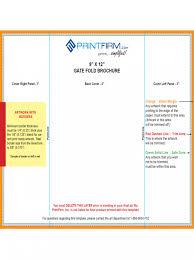 brochure rubric template best sles templates
