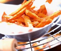 cuisiner patate douce poele recette rapide frites de patate douce