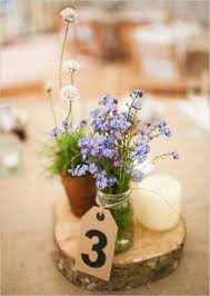 Cheap Easy Wedding Centerpieces by English Country Garden Wedding Wedding Centerpieces