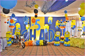 Despicable Me Decorations Diy Minion Birthday Party Decorations Home Design Ideas