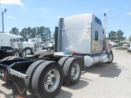 kenworth chassis used 2015 kenworth w900l tandem axle sleeper for sale in ms 6587