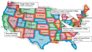 map us colleges us college and land grant map usa mappery major us