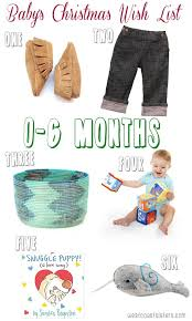 christmas gifts for baby 0 to 6 months west coast sisters