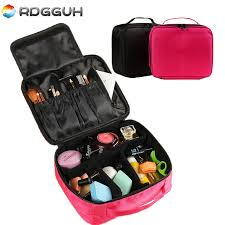 Professional Makeup Carrier Rdgguh Luxury Brand Cosmetic Bag Beautician Professional Makeup