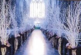 Wedding Arches In Church Formal Hollywood Glam Romantic Shabby Chic Vintage Blue Silver
