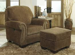 reclining back chair with ottoman benchcraft 2620073 westworth pressback chottoman chair and ottoman