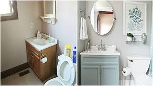 tiny bathroom makeover