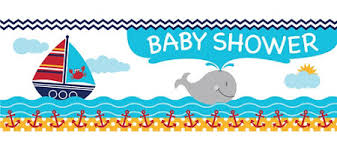 nautical baby shower ahoy nautical baby shower party supplies party city