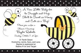 bumble bee baby shower invitations orionjurinform com