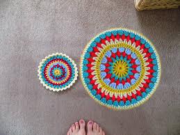 Crochet Home Decor Patterns Free Crochet Half Circle Rug Pattern Best Rug 2017