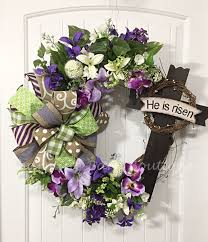 easter wreath floral easter wreath grapevine wreath easter easter wreath floral easter wreath grapevine wreath easter grapevine he has risen cross wreath easter decor spring decor cross decor