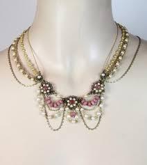 vintage wedding jewelry bridal necklace wedding jewelry beaded necklace