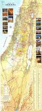 Negev Desert Map Map Of Israel Detailed Touring Routes