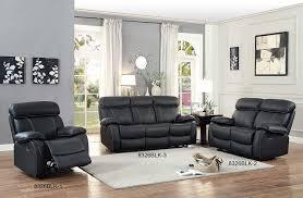 Black Recliner Sofa Set Amazon Com Homelegance Pendu Reclining Sofa Top Grain Leather