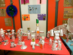 art attack recycled art exhibition 2012