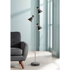 crockett white halogen 150 watt torchiere floor lamp 46195