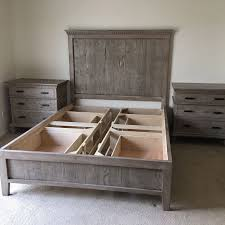 Reclaimed Wood Bed Los Angeles custom storage beds larry st john los angeles custom
