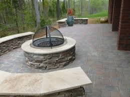 Unilock Fire Pit by Wonderful Half Off Outdoor Fire Pit Kit At Unilock Unilock Groupon