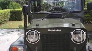 classic jeep cj mahindra classic 4x4 jeep walk around youtube