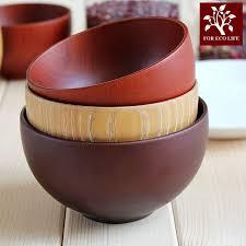 japanische k che 1 stücke natürliche farbe holz schalen japanische küche geschirr