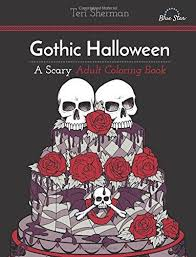 10 coloring books horror freaks