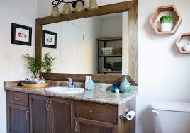 before u0026 after main bathroom refresh brittany stager