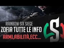 siege generali zofia operatrice polacca tutte le info rainbow six siege white