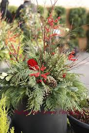 51 best christmas planter images on pinterest christmas planters
