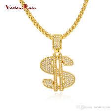 round pendants necklace images Wholesale westernrain fashion new necklaces for men hip hop 18k jpg