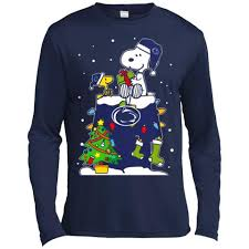 penn state nittany lions sweaters snoopy woodstock