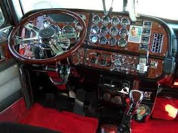 Custom Peterbilt Interior Peterbilt 379 Salon Interior Design Cabin Truck Salon