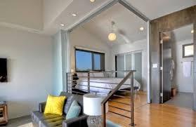 split level bedroom wall slides