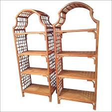 Rattan Bookcase Bookcases Storages U0026 Shelves Make Your Living Room Adorable With