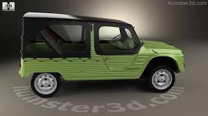 citroen mehari citroen mehari 1968 3d model by hum3d com youtube