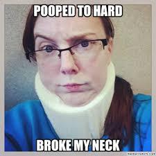 Neck Brace Meme - image jpg