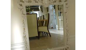 mirror shabby chic floor standing mirror 44 outstanding for