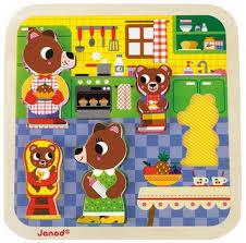puzzle cuisine kitchen chunky puzzle janod