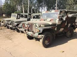 jeep olx old army military used mm550 jeep thar jalandhar