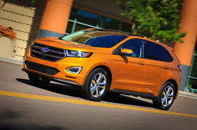 ford edge crossover 2015 ford edge first drive motor trend