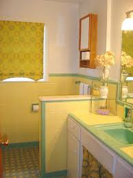 35 best yellow and green 1950 u0027s bathrooms images on pinterest