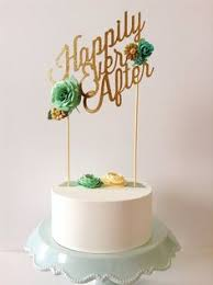 custom wedding paper cake topper personalized with your text and