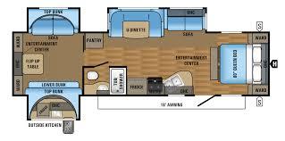 jayco eagle mbqs fifth wheel floor plan camping ideas 2 bedroom
