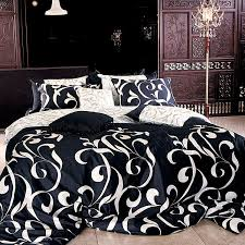 King Size Duvet Covers Canada Black And White Duvet Covers With Regard To Motivate Rinceweb Com