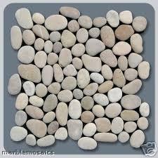 White Pebble Tiles Bathroom - pebble mosaic tiles pebble flooring uk bathroom