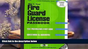 audiobook fire guard license passbooks full book video dailymotion