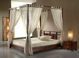 letto baldacchino letto baldacchino matrimoniale design etnico in legno teak