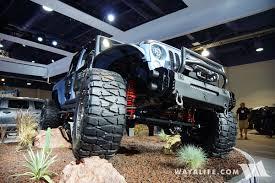 2016 sema lund starwood bandit jeep jk wrangler pickup