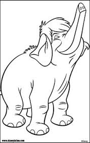 baloo jungle book coloring pages kids printable free